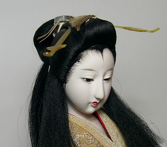 Japanese Antique Noble Lady Doll 1920 S Japanese Kimono