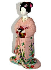 Japanese  antique doll, 1950's
